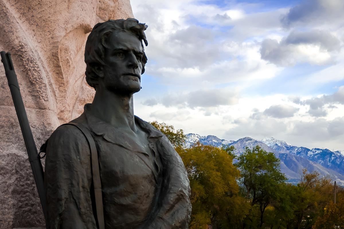 Picture of Utah Mormon Battalion Monument